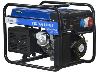 Бензиновый генератор ТСС SGG 6000 E3 с АВР