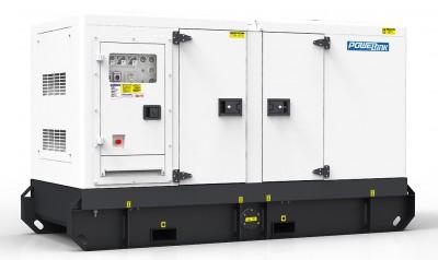 Дизельный генератор Power Link GMS38PX в кожухе