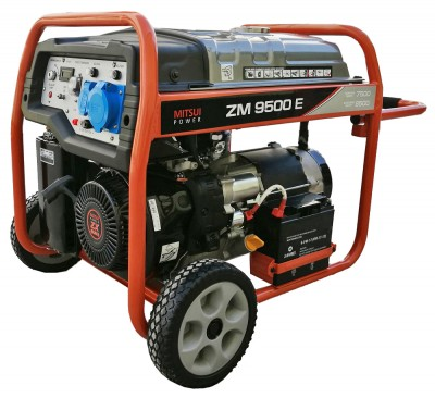 Бензиновый генератор Mitsui Power ZM 9500 E с АВР