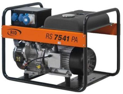 Бензиновый генератор RID RS 7541 PAE