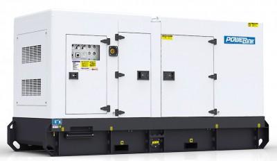 Дизельный генератор Power Link GMS175C в кожухе с АВР