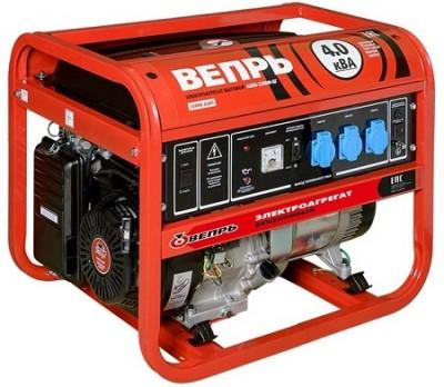 Бензиновый генератор Вепрь АБП 4,2-230 ВФ-БСГ