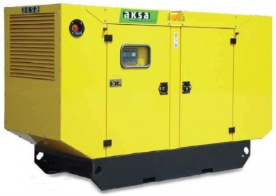 Дизельный генератор Aksa AC-200 в кожухе