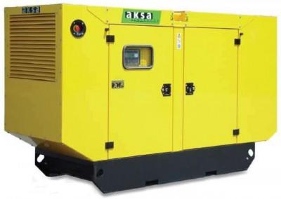 Дизельный генератор Aksa AC-250 в кожухе с АВР