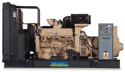 Дизельный генератор Aksa AC-550 с АВР