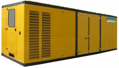 Дизельный генератор Aksa APD1650 в кожухе с АВР