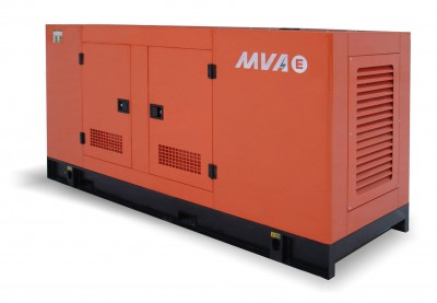Дизельный генератор MVAE АД-260-400-Р в кожухе