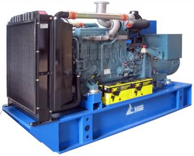 Дизельный генератор ТСС АД-300С-Т400-1РМ17 с АВР
