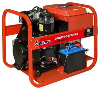 Дизельный генератор Вепрь АДП 7,0/4,0-T400/230  ВЛ-БС
