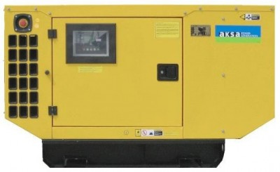 Дизельный генератор Aksa AJD 33 в кожухе с АВР