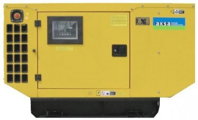 Дизельный генератор Aksa AJD 45 в кожухе