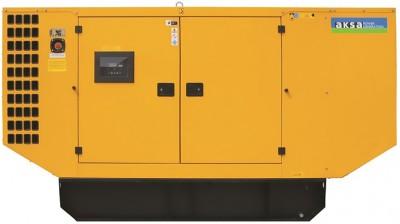 Дизельный генератор Aksa AP 200 в кожухе с АВР