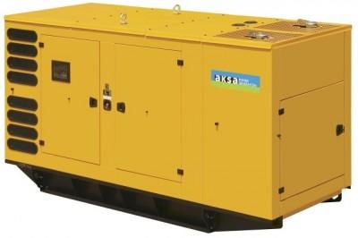 Дизельный генератор Aksa AP 385 в кожухе с АВР