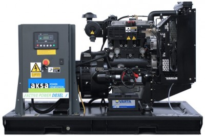 Дизельный генератор Aksa AP 33 с АВР