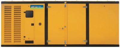 Дизельный генератор Aksa AP 1400 в кожухе