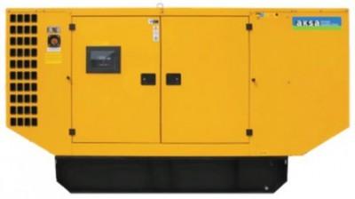 Дизельный генератор Aksa AP 88 в кожухе