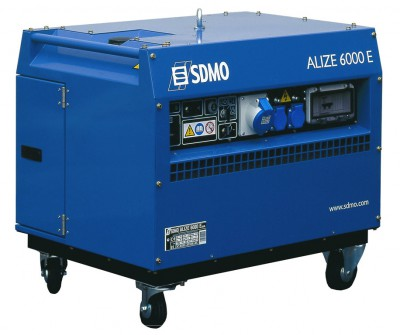 Бензиновый генератор SDMO ALIZE 6000 E AUTO