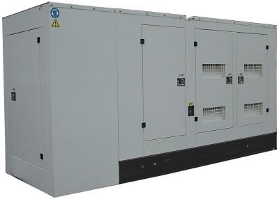 Дизельный генератор АМПЕРОС АД 500-Т400 P (Проф) в кожухе с АВР