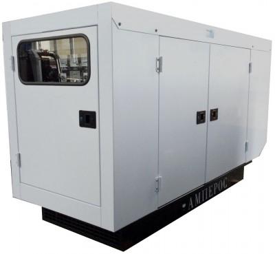 Дизельный генератор АМПЕРОС АД 40-Т400 P (Проф) в кожухе с АВР