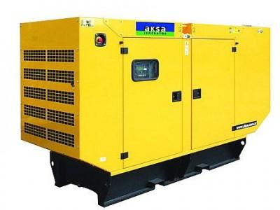 Дизельный генератор Aksa APD-275C в кожухе