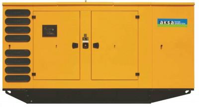 Дизельный генератор Aksa APD825M в кожухе с АВР