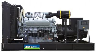 Дизельный генератор Aksa APD880M с АВР