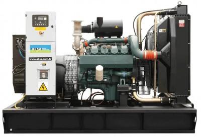 Дизельный генератор Aksa AVP-655 в кожухе с АВР