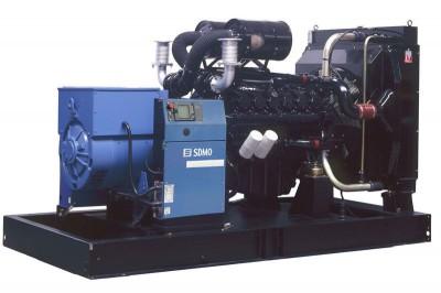 Дизельный генератор SDMO D300 с АВР
