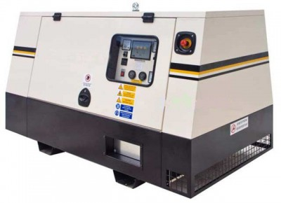 Дизельный генератор Broadcrown BC JD 130 в кожухе с АВР