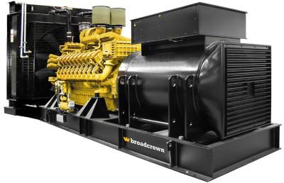 Дизельный генератор Broadcrown BCMU 1240S с АВР