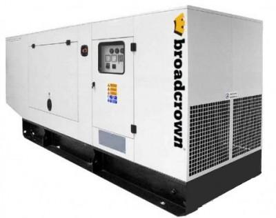 Дизельный генератор Broadcrown BC JD 150 в кожухе с АВР