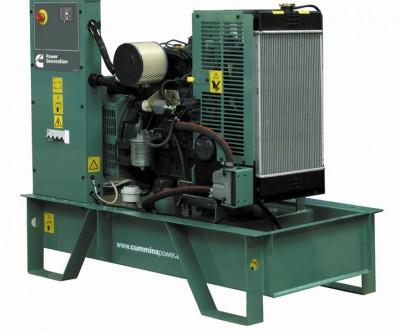 Дизельный генератор Cummins C17D5 с АВР