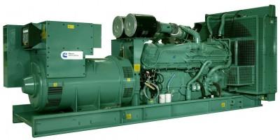 Дизельный генератор Cummins C500D5e с АВР