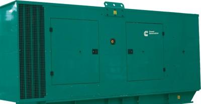 Дизельный генератор Cummins C550D5 в кожухе