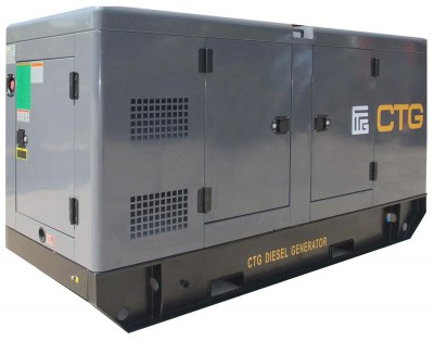 Дизельный генератор CTG AD-385WU в кожухе