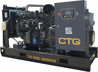 Дизельный генератор CTG AD-150RE с АВР