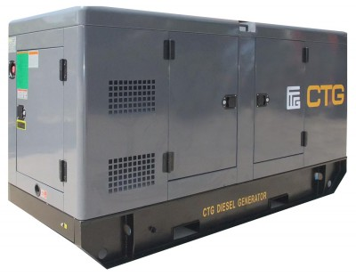 Дизельный генератор CTG AD-345SD в кожухе