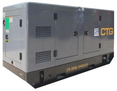 Дизельный генератор CTG AD-400SD в кожухе
