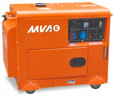 Дизельный генератор MVAE ДГ 6300 К с АВР