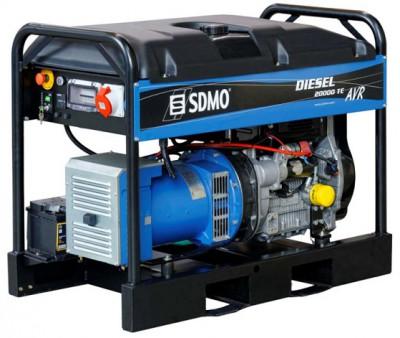 Дизельный генератор SDMO DIESEL 20000 TE XL AVR C с АВР