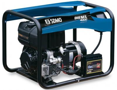 Дизельный генератор SDMO DIESEL 4000 E XL C M с АВР