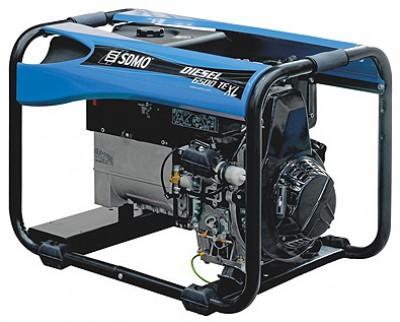 Дизельный генератор SDMO DIESEL 6500 TE XL C M с АВР