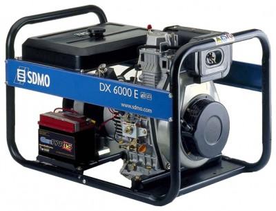 Дизельный генератор SDMO Diesel DX 6000 TE XL C