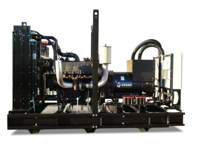 Дизельный генератор Gesan DTA 880 E АВР
