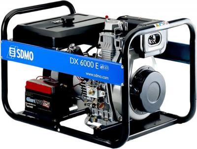 Дизельный генератор SDMO DX 6000 E XL C AUTO