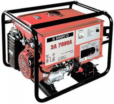 Бензиновый генератор Energo ЭА 7000 А
