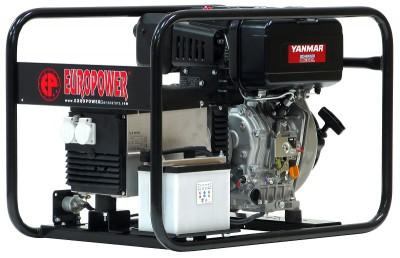 Дизельный генератор EuroPower EP 6000 DE