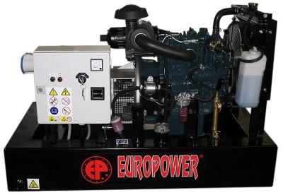 Дизельный генератор EuroPower EP 8 DE с АВР