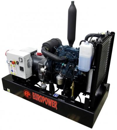 Дизельный генератор EuroPower EP 9 TDE с АВР