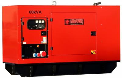 Дизельный генератор EuroPower EPS 250 TDE с АВР